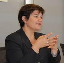13 oct. 2015: Petit-déjeuner avec Martine LARUAZ – Dirigeante, Isore