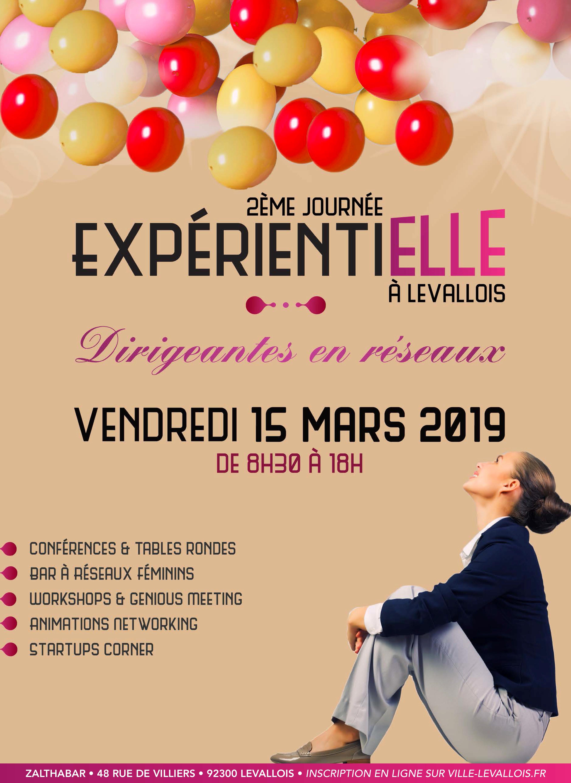 Journée ExpérientiELLE le 15 mars 2019