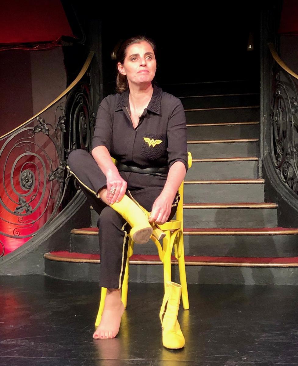 Sandrine Sarroche au Palais des Glaces le 11/04/19