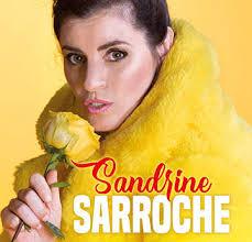 Sandrine Sarroche au Palais des Glaces le11 avril 2019